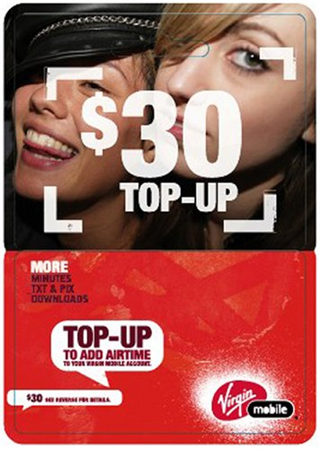 Virgin Mobile $30 Top-Up Card at Sears.com