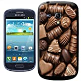Fancy A Snuggle Delicious Chocolate Swirls Praline Fudge Clip-on Hard Back Cover for Samsung Galaxy S3 Mini i8190