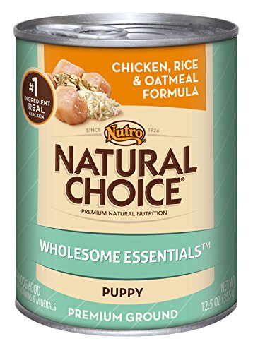 Natural Choice Dog Puppy Chicken, Rice And Oatmeal Formula Puppy Food Cans, 12-1/2-Ounce, 12 Pack Cans