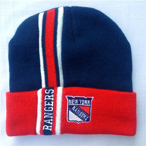 New York Rangers Knit Winter Hat at Amazon.com