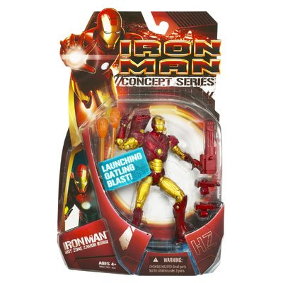 Iron Man Movie Action Figure Hot Zone Iron Man (Iron Man Action Figure )