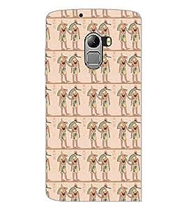 PrintDhaba Pattern D-5389 Back Case Cover for LENOVO VIBE X3 LITE (Multi-Coloured)