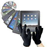 "DURAGADGET LCD Touchscreen Gloves For Cold Weather Use - Works With Your Tablet PC (e.g. The New Apple 3rd Generation iPad ""3"" (March 2012 Release) & iPad 2, The NEW Apple iPad ""3"" (3rd Generation), Samsung Galaxy Tab And ASUS Eee Pad Transformer) - Size Smallby DURAGADGET"