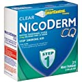 NicoDerm CQ Step 1 21mg, 21 Clear Patches (Pack of 3)