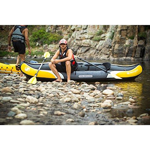 Sevylor colorado 2 person kayak combo for Sevylor coleman colorado 2 person fishing kayak