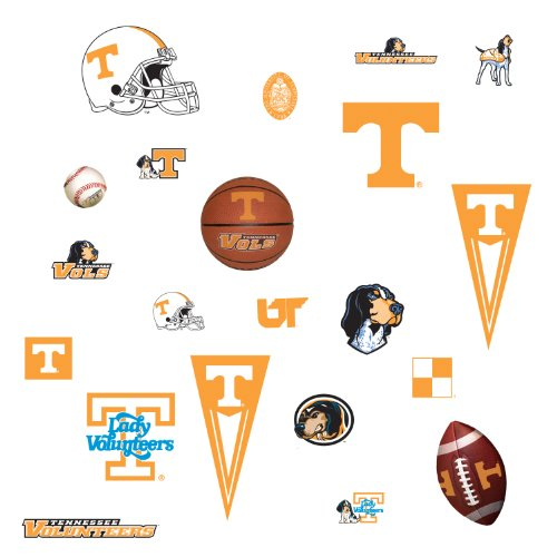 ... RoomMates RMK1069SCS University of Tennessee Peel & Stick Wall Decals
