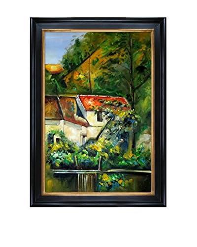 "Paul Cézanne ""House Of Piere La Croix"" Framed Hand-Painted Reproduction"