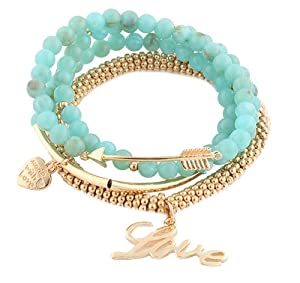 Ladies Gold with Turquoise