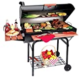 Chargriller 2137F outlaw Grill Holzkohle