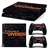 Ps4 Playstation 4 Console Skin Decal Sticker The Division + 2 Controller Skins Set