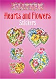 Glitter Hearts and Flowers Stickers (Dover Stickers)