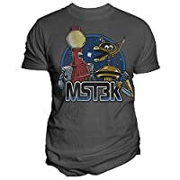 Unisex-Adult Exclusive Mst3k Mystery Science Theater 3000 Tom Servo N Crow T-Shirt