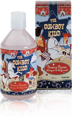 The Cowboy Kidd Tearless Shampoo and Body Wash (8 Fl. Oz) - 1