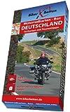 Motorradkarten-Box Deutschland: 16 Tourenkarten für Motorrad-Reisende