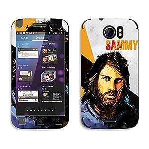 Bluegape Micromax Canvas 2 A110 Georgios Samaras Football Player Phone Skin Cover, Blue