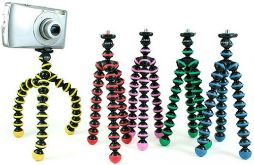 GP1-01P(Grey): Gorillapod Tripod by JOBY for Compact Digital Camera