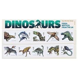 Sellos 2013 Dinosaurios Pack de Presentación nº 490