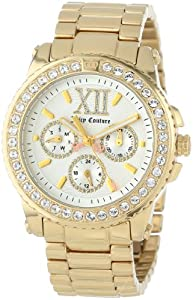 Juicy Couture Women's 1900711 Pedigree Gold Plated Bracelet Watch