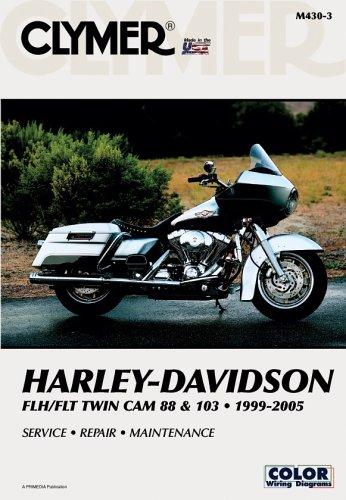 Clymer Harley-Davidson FLH/FLT Twin Cam 88 & 103 1999-2005 (Clymer Motorcycle Repair)