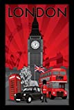 London Poster Art Print