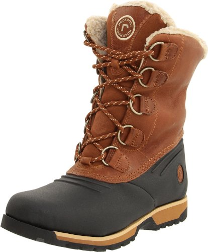 Rockport Men's Lux Lodge Black/wheat Waterproof Boot K54465  9 UK, 43 EU, 9.5 US