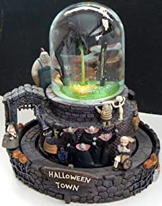 Nightmare Before Christmas ~ Musical Snow Globe by Disney Store