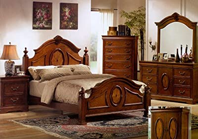cheap price richardson cal king size bedroom six piece set