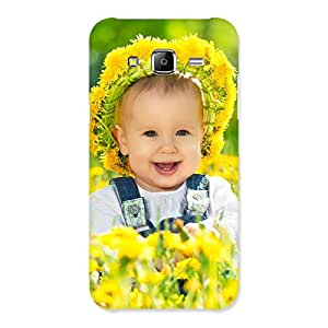 Special Laughing Baby Girl Back Case Cover for Samsung Galaxy J5