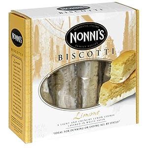 Amazon.com: Nonni's Biscotti, Limone, 8-Count Boxes (Pack of 12)