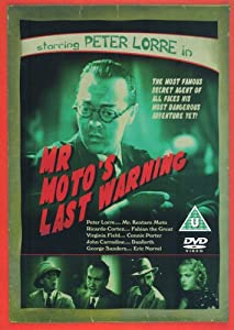 Mr. Moto's Last Warning [DVD]