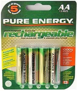 Pure Energy Battery Akku AA/LR06 4 PK version US