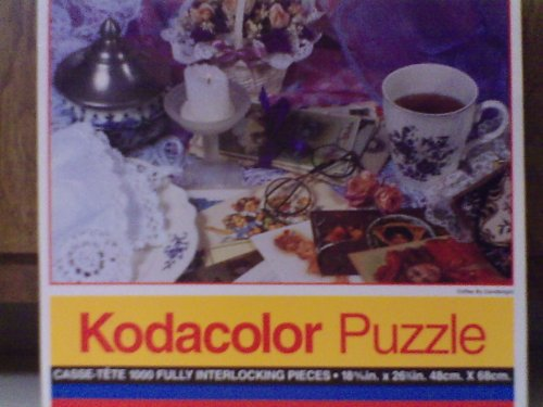 Coffee By Candlelight 1000 Piece Puzzle by Rose Art