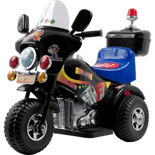 Lil' Rider Deputy Battery Operated 3 Wheel Bike - Black