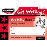 Read Write Inc. Phonics: Get Writing!: Red Ditty Books 1-5 Pack of 50