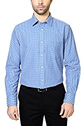 Peter England Comfort Fit Shirt _PSF61500499_44_Blue