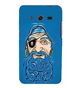 Beard Baba Fun 3D Hard Polycarbonate Designer Back Case Cover for Samsung Galaxy Core 2 G355H