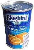 ブルーバード オレンジジュース ストレート果汁100% 163ml缶 ランキングお取り寄せ