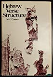 img - for Hebrew Verse Structure book / textbook / text book