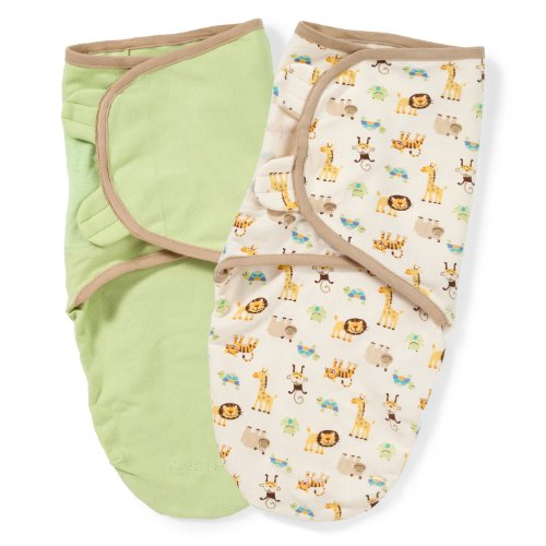 Summer Infant SwaddleMe Adjustable Infant Wrap, 7-14 Lbs, Small-Medium, Bumble Bee