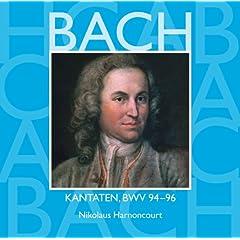 """Cantata No.96 Herr Christ, der einge Gottessohn BWV96 : V Aria - """"Bald zur Rechten, bald zur Linken"""" [Bass]"""