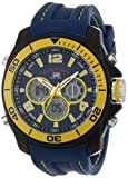 U.S. Polo Assn. Sport Mens US9322  Sport Watch with Navy Rubber Band