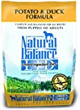 Dick Van Patten's Natural Balance Limited Ingredient Diets Potato and Duck Formula Dry Dog Food, 4.5-Pound Bag
