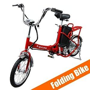 e guruma electric bike motorized folding bike. Black Bedroom Furniture Sets. Home Design Ideas