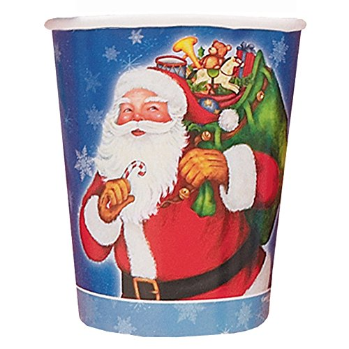 9oz Night Before Christmas Paper Cups, 8ct