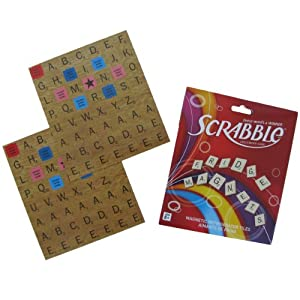Magnetic Scrabble Letters Set