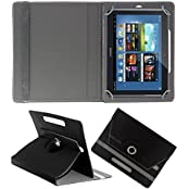 ACM ROTATING 360° LEATHER FLIP CASE FOR SAMSUNG GALAXY NOTE N8010  TABLET STAND COVER HOLDER BLACK