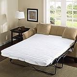 Comfort Classics Frisco Microfiber Sofa Bed Pad White, 60 x 72