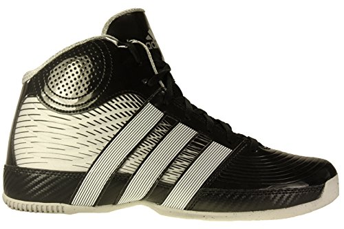 935847fb179 Adidas Mens Commander TD 4 Basketball Shoes BlackWhite G99102 Size ...