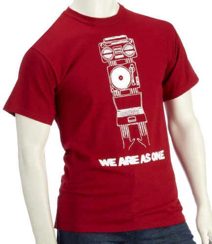 DMC Technics We Are As One Mens Red T-Shirt Small