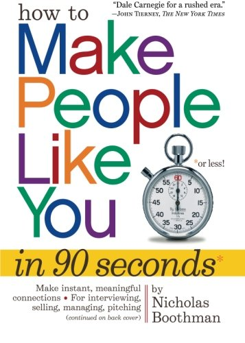 How to Make People Like You in 90 Seconds or Less (How To Make Friends Book compare prices)